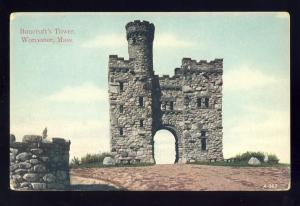 Worcester, Massachusetts/MA/Mass Postcard, Bancroft's Tower