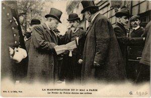 CPA Paris - La Manifestation du Ier Mai - La Préfet de Police (87959)
