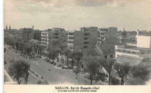 RPPC SAIGON Đại lộ Nguyễn Huệ VIETNAM Street Scene c1960s Vintage Postcard
