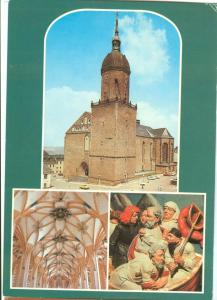 Germany, Annaberg, St. Annenkirche, unused Postcard