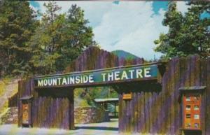 North Carolina Cherokee Mountainside Theatre Entrance