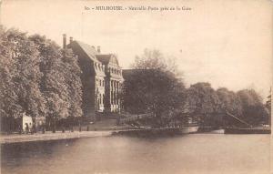 France Mulhouse Nonvelle Poste pres de la Gare
