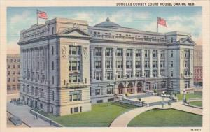 Nebraska Omaha Douglas County Court House Curteich