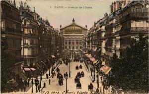 CPA PARIS 2e-Avenue de l'Opéra (322093)