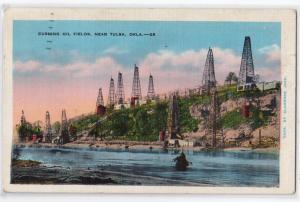 Cushing Oil Fields near Tulsa OK