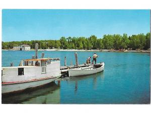 Boats on Sister Bay Door County Wisconsin