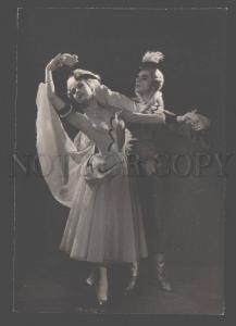 106615 BELLE Russian BALLET Star DANCERS Vintage REAL PHOTO