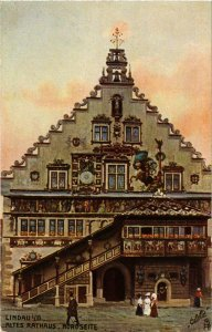 CPA AK Lindau- Altes Rathaus GERMANY (940717)