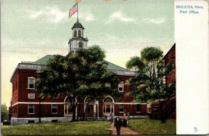 Brockton Massachusetts~US Post Office~1905 Raphotype Postcard~TUCK
