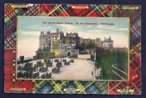 Black Watch on Esplanade Edinburgh Scotland unused c1910's