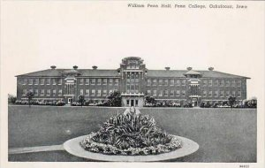 Iowa Oskaloosa William Penn Hall Penn College