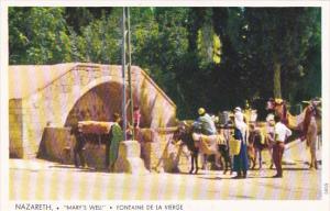 Mary's Well Nazareth Israel