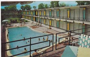 Holiday Inn, Swimming Pool, New Orleans, Louisiana, PU-1962