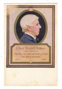 Makers of Walk-Over Shoes Series, Oliver Wendell Holmes, 00-10s