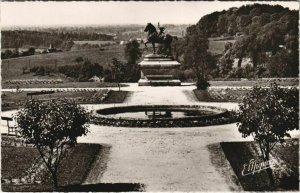 CPA Mortagne Jardin de l'Hotel de Ville FRANCE (1053970)