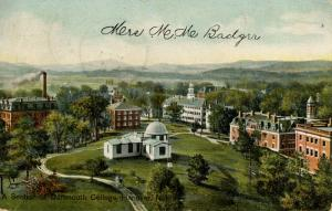 NH - Hanover. A Section of Dartmouth College