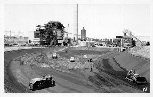 H8/ Denver Colorado RPPC Postcard c1940s Cherokee Power Plant Station