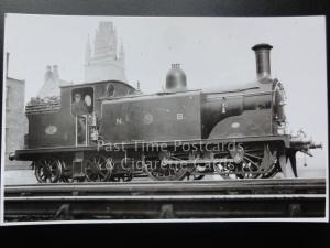North Britishl Railway NBR Steam Locomotive No.91 RP Photocard 080515