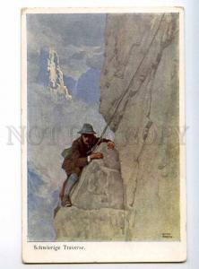 234749 SPORT Mountaineering Climbing by OTTO BARTH vintage PC