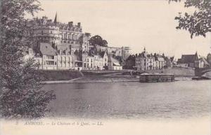 France Amboise Le Chateau et le Quai