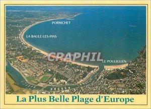Postcard Modern Colors shower Britain's Love Riviera More The beautiful beach...