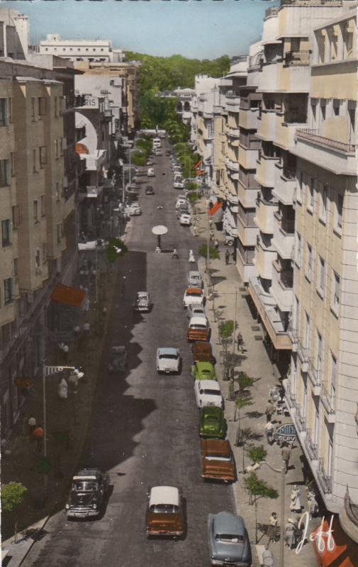 RP; TANGER , Morocco , 30-40s Boulevard Pasteur