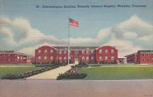 Administration Building, Kennedy Genral Hospital. MEMPHIS, Tennessee, 30-40s