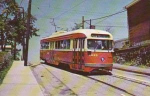 Trolley Pittsburgh Railways PCC Car #1635