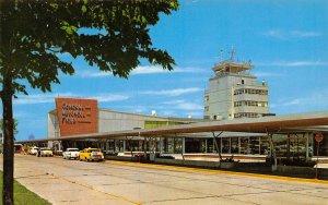 General Mitchell Field Airport Milwaukee Wisconsin postcard