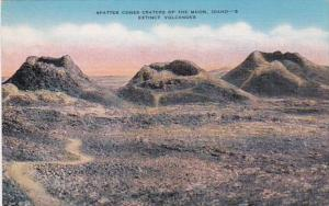 Idaho Extinct Volcanoes Spatter Cones Craters Of The Moon