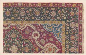 Medallion Rug in silk , Persian, XVI Century , 1910s