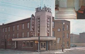 Hotel VAL D'OR , Val D'Or , Quebec , Canada , 50-60s