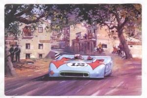 Racing postcard by Artist Michael TURNER, 1995 ; #12
