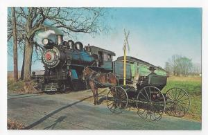 PA Strasburg Railroad Train Locomotive 1223 Amish Buggy