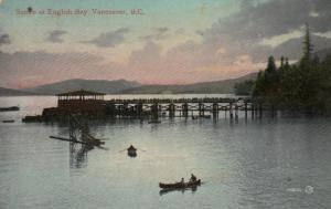 VANCOUVER , Canada , 1919 ; Sunset at English Bay