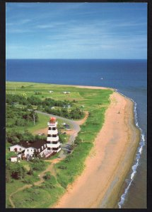 PEI Prince Edward Island WEST POINT Lighthouse Northumberland Strait - Cont'l
