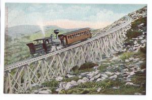 Jacob's Ladder Cog Railway White Mountains NH Leighton c1910