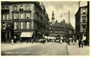 UK - Scotland. Glasgow, Charing Cross