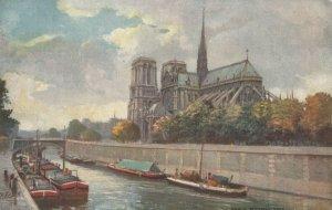 Ville de PARIS , France , 1900-1910´s ; Norte Dame ; TUCK 945 P No 36