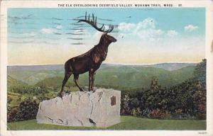 The Elk Overlooking Deerfield Valley Mohawk Trail Massachusetts 1929