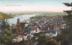 Aerial View of ANDERNACH a. Rhineland-Palatinate,  Germany, 00-10s
