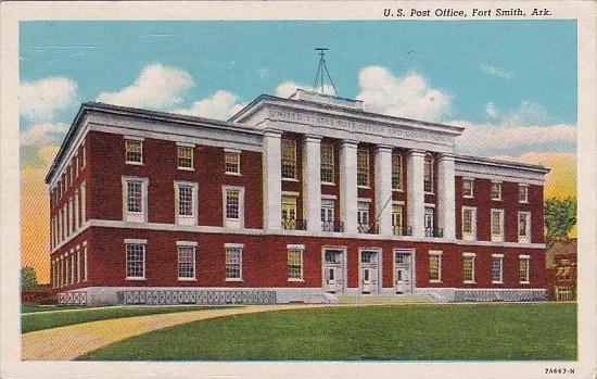 Arkansas Fort Smith U S Post Office 1942