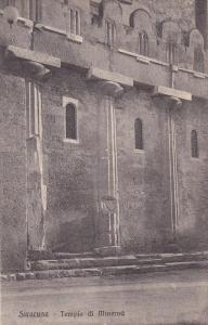 Tempio Di Minerva, SIRACUSE (Sicily), Italy, 1900-1910s