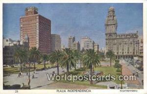 Montevideo Uruguay, South America Plaza Independencia Montevideo Plaza Indepe...