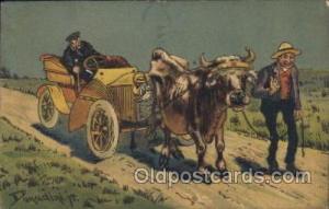 Artist Donadini, Jr. Signed 1916 crease left edger, minor corner wear postal ...