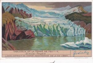 Liebig S1324 Views Of Tierra Del Fuego No 4 Glacier Pagels