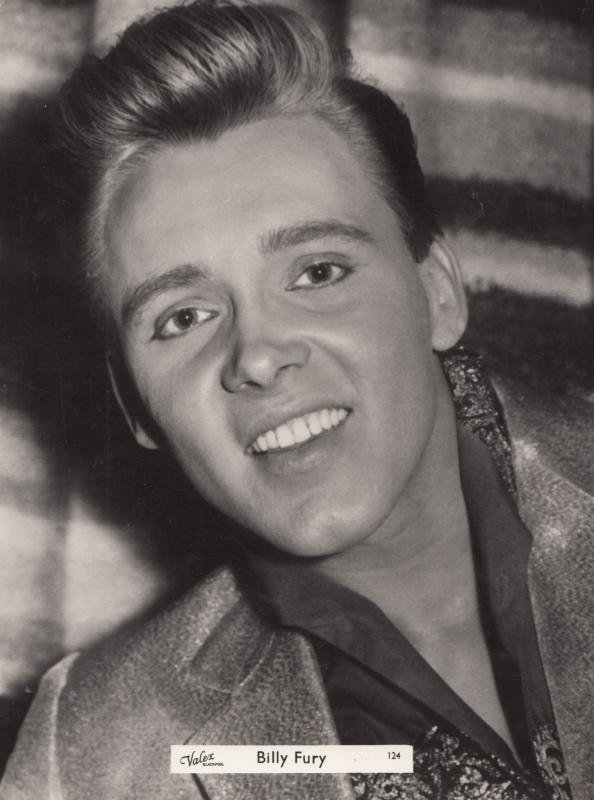 Billy Fury Valex Blackpool Vintage Giant 12x9 Publicity Photo Photograph