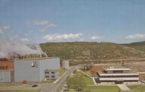 Paper Mill, Executive offices, BAIE COMEAU , QUEBEC, Canada , 40-60´s
