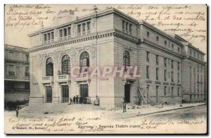 Old Postcard Epernay New Theater