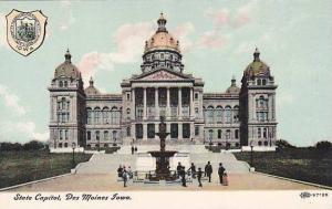 Exterior, State Capitol, Des Moines, Iowa,  00-10s